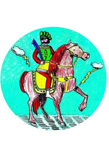 zeus cavalier borgne copie